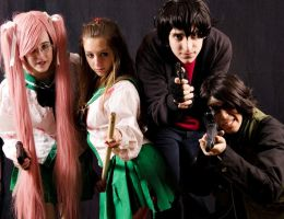 Highschool of the dead by Rochisimo