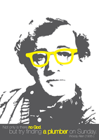 Woody Allen by MacMasore