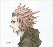 Axel - Alone by Rousteinire