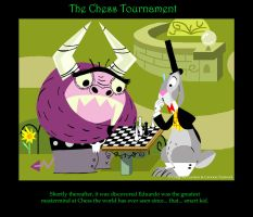 The Chess Tornament by cgaussie