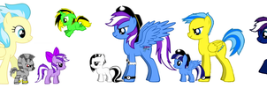 Calecune (my OC)'s Family by RamenWolf1485