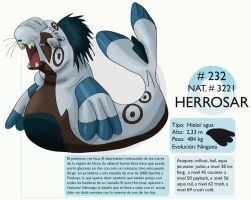 Pokemon Oryu 232 Herrosar by shinyscyther