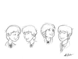 The Beatles by shot-dunyan