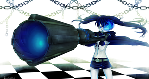 Black Rock Shooter by TaigaKun