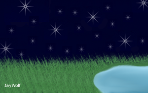 Starry Night ~Free Chatlands Room~ by JayWolf42