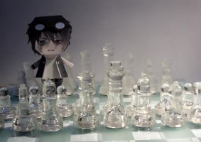 papercraft: Chess by niiiiiiiiiix