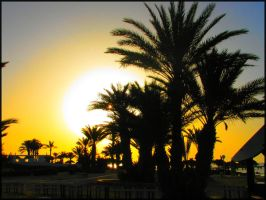Sunset on Djerba 03 by garbo009