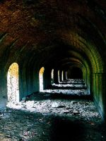 Tunnel of damnation... by Murderdoll17