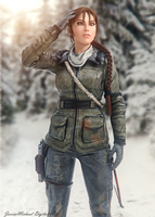 Rise of the Tomb Raider by JavierMicheal