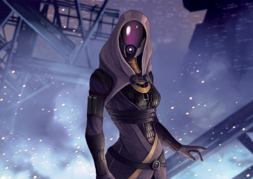 Mass Effect Series #3 Tali'Zorah by Pakoune