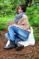 Woolen Girl by LeThoumy