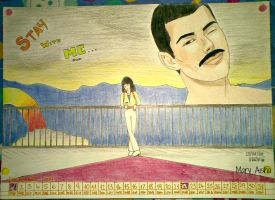 December with Freddie Mercury by Mary-Aisha
