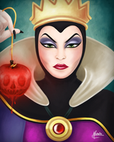 Evil Queen by michelle-miranda