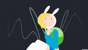 ADVENTURE TIME WALLPAPER - Fionna by SpinninMan