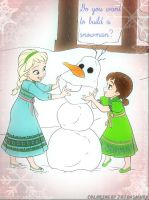 ~ Do you want to build a snowman? ~ by JoJoAsakura