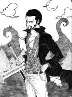 Mihawk two years later by artJou