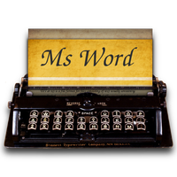 Steampunk Victorian Ms Word Icon by pendragon1966