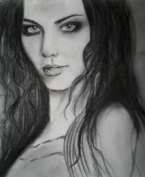 Amy Lee new drawing by CupidsGun