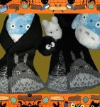 Totoro Scarf by MadMouseMedia
