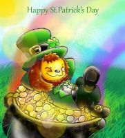 St. Patrick's Puppy by Maplemay