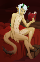 Light Reading by TheCrobot