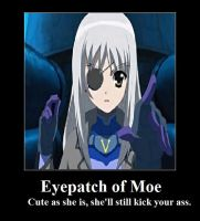 Moevational - Eyepatch of Moe by Thrythlind