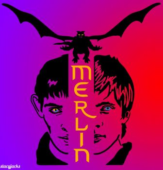 Merlin by Stassiana