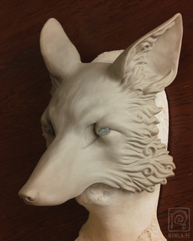 Fox sculpt, so swirly. by Nymla