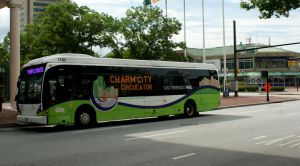 Charm City Circulator Bus 1103 by JamesT4
