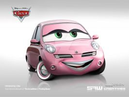 Micra Disney CARS 'CHO' by yasiddesign