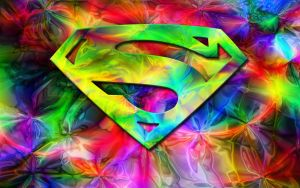 Superman in Color Widescreen by the-big-al
