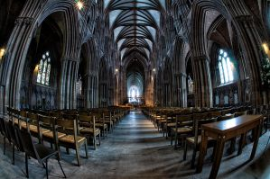 Lichfield Cathedral by Engazung