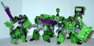 The RID Constucticons by shumworld