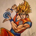 Goku's bizzare adventure  by Daggerss