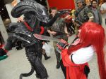 grell vs Alien by Dunva