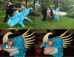 Stormfly Cosplay COMPLETE by Exile-wolfy