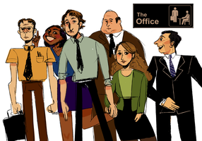 The Office by lizoni