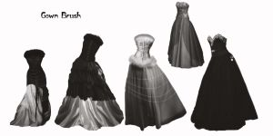 Princess Gown Dresses 2 by farmerstochter
