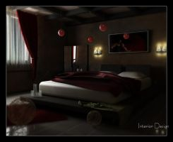 Interior Design, Bedroom by akula13