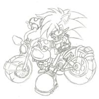 ODA: On a Steel Horse I Ride by Basic-Hedgehog