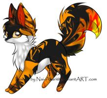 Fox Adoptable ~ 5 by BiahAdopts