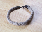 Gray Wolf Woven Bracelets by DaybreaksDawn