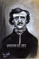 Edgar Allen Poe Dictionary Art by Undead-Art