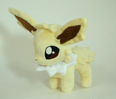 Jolteon Plushie by Yukamina-Plushies