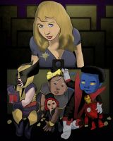X-Babies at Iron Man 2 by jackcrowder