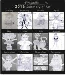 2016 Art Summary by Twogadia