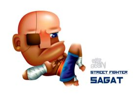 Sagat by Seanleedesign
