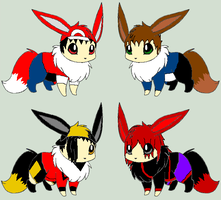 Edit: Eevee Trainer Adoptables [Closed] by ReinFalling