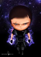 Chibi Shepard Adept Version by peastri