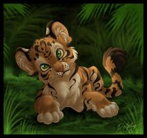 Jungle Cub by DolphyDolphiana